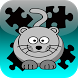 Cat Jigsaws game by Yakushin