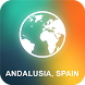 Andalusia, Spain Offline Map by EasyNavi