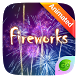 Fireworks GO Keyboard Animated Theme