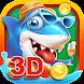 3D Gold Fishing Hunter - Arcade Game Machine