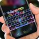 Neon Tiesto DJ Keyboard by Sexy Theme for Smart Phone