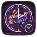 NeonLight GO Clock Theme by Ltd. talent
