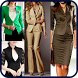 Work Outfits Business Women Suit Dresses Designs by Ocean Grampus Apps