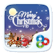 Merry Christmas Go Launcher Theme by ZT.art