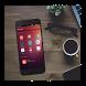 KLWP Ubuntu theme by Andrea Peci