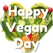 Happy World Vegan Day by AppsUniverse