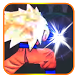 Saiyan Goku God Xenoverse by Ak Cool Bat