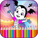 coloring book for vampirinaa