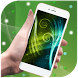 curved green waves by live wallpaper collection