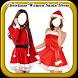 Christmas Women Santa Dress by Poppy Apps
