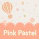 Pink Pastel Atom theme by DLTO