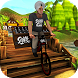 Cattle Farm Milk Delivery Bicycle 3D by FunSoftTech