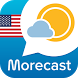 Morecast USA Weather & Radar by UBIMET