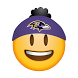 Baltimore Ravens Stickers by Swyft Media
