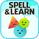 Spell & Learn: Colors & Shapes by Tappy Tots