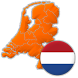 Provinces of the Netherlands - Capitals and Maps by Andrey Solovyev