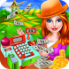 Farm Store Cashier Girl - Cash Register Games by BIG BONE STUDIOS