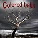 Movement of colored balls