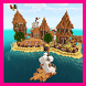 Island Village map for MCPE by Gwenda24