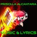 Letras Priscilla Alcantara by PRIBADOS APPS