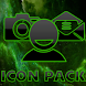 ICON PACK DARK SPACE GREEN by Tak Team Studio