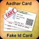 Fake Aadhar Card Maker by Aadhar Mobo Apps