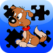 Dog Jigsaws game by Yakushin