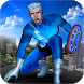 Grand Ninja Superhero Fight Flying Rescue Mission