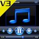 SKIN PLAYERPRO V3 AERO BLACK by Tak Team Studio