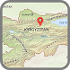 Kyrgyzstan Map by world map HD information