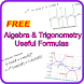 Algebra Trigonometry Formulas by FunEduApps