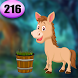 Cute Horse Rescue Game Best Escape Game 216 by Best Escape Game