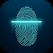 Fingerprint Lock Screen Neon
