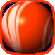 Orange Bouncing Ball Free by 141 Games