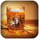 Beer Glass Photo Frames by Video Media Gallery