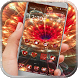 Neon glowing flower heart by Neon launcher theme - wallpapers