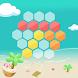 Magic Hexagons-Tetris hexagon by Fly Monkey Kings