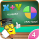 4th Grade Math-Algebra+Divide by StudyTab Inc