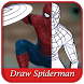 Learn Drawing Spider--Man Step by Step by Angsa Studio