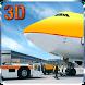 Airport Plane Ground Staff 3D by Digital Toys Studio