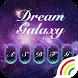 Dream Galaxy Keyboard Theme by Keyboard Arts Themes