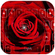 Romantic rose Keyboard theme by Fly Liability Themes