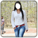 Girls Jeans Photo Suit by XpertApp Studio Inc