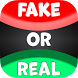 Fake Or Real Funny Picture Quiz - Free Trivia Game by Kochergin Max