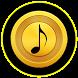 Gold Mp3 Music Player by Quarto Nich