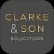 Clarke & Son Accountancy App by MyFirmsApp