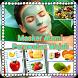 Masker alami perawatan wajah by singdroid