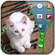 Kitty Cat Zipper lock Screen by Vintex Software