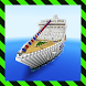Ship Royal Dream. MCPE map by Anselm Design