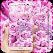 Pink Love Rose Theme by Theme Designer